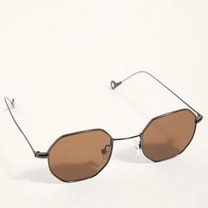 Free People octagon sunglasses